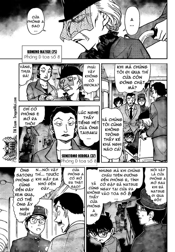 Conan Chap 820: Xe Lửa Thần Bí: Toa 8 11