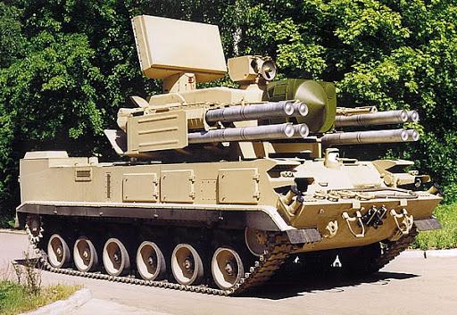 Sistema antiaéreo Pantsir-S. 002
