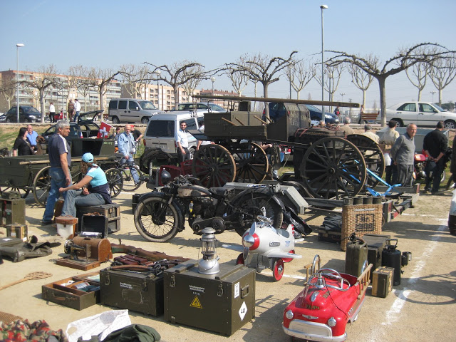 14 marzo 2009. Llotja de vehicles antics i classics. Santa Perpetua de Mogoda 100_6989