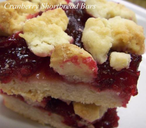 Bánh Cranberry Shortbread Bars Cranberry1
