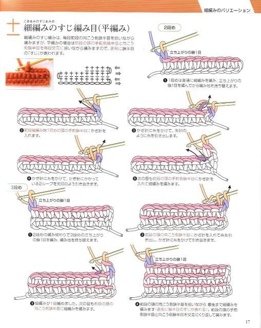Những mũi MÓC (1) Crochet14