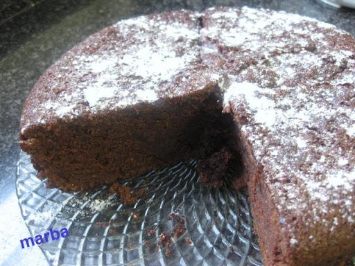 Bizcocho de chocolate y café IMG_3582