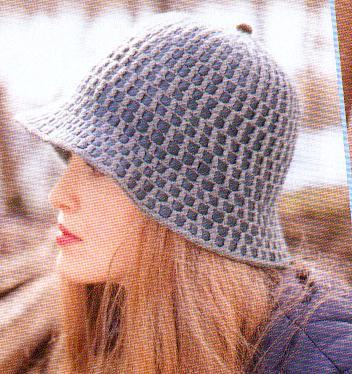 قبعات كروشيهواو كلوشن خيالي  09-05