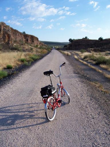 Restaucación de bicicleta BH plegable 20´ 100_3120