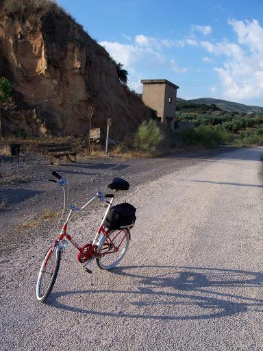 Restaucación de bicicleta BH plegable 20´ 100_3121