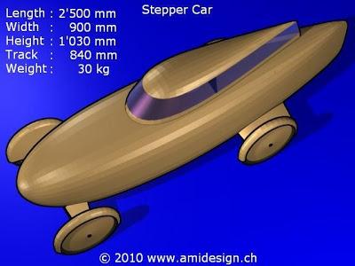 """The Stepper Car"" by amidesign Stepper-car-2"