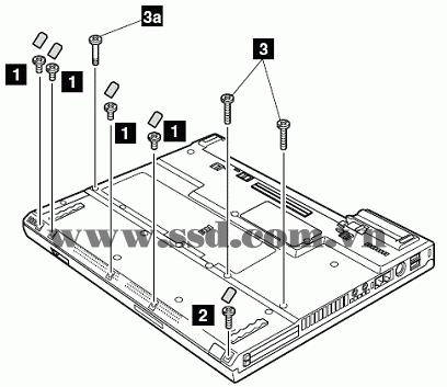 Hướng dẫn tháo lắp LAPTOP IBM™ ThinkPad T IBMp2_5