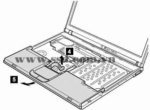 Hướng dẫn tháo lắp LAPTOP IBM™ ThinkPad T IBMp2_6