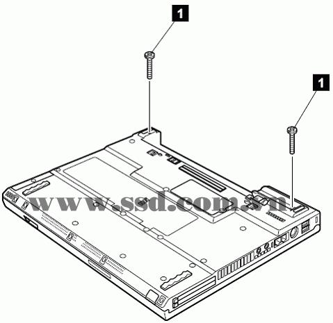 Hướng dẫn tháo lắp LAPTOP IBM™ ThinkPad T IBMp2_7