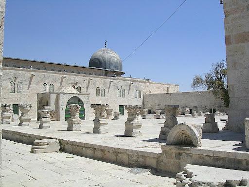 Jerusalem: Mezquita de Al Qasa P101239