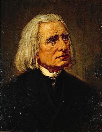 Liszt - Giấc Mộng Tình AnonymouspaintingFranzLiszt-full