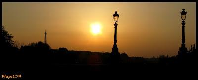 Une semaine printannière à Paris 21.Soir