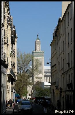 Une semaine printannière à Paris 27.mosqu%C3%A9e