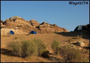 Jordanie : au pays des Nabatéens, des Grecs, des Croisés... et de Dame Nature ! 266%20Petra%20-%20bivouac