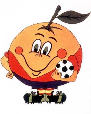 Điểm danh linh vật và biểu trưng của các kỳ World Cup từ năm 1966 1982_naranjito