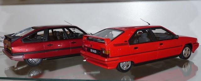 My collection Citroën BX%20CX%202