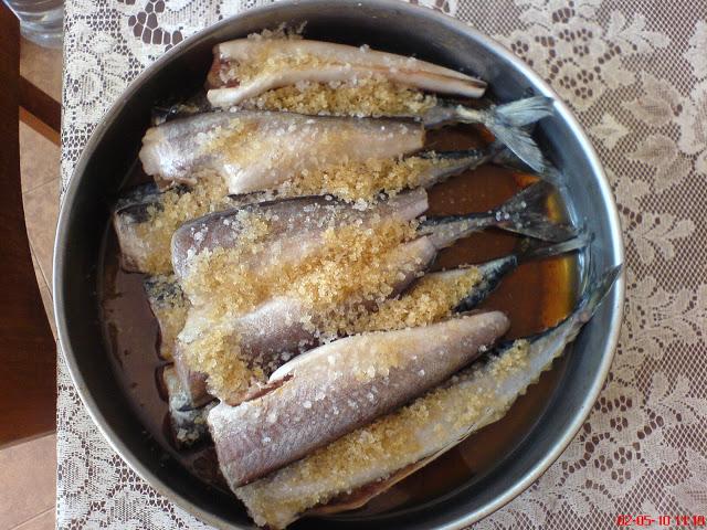Пушене на риба в домашни условия.. DSC01657