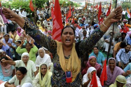 #Inde. La plus grande grève de l'histoire de l'humanité ? India3