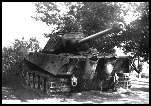1- La Panzer Kompanie 316 (1/Panzer Abteilung 302)- France 1944 02-3