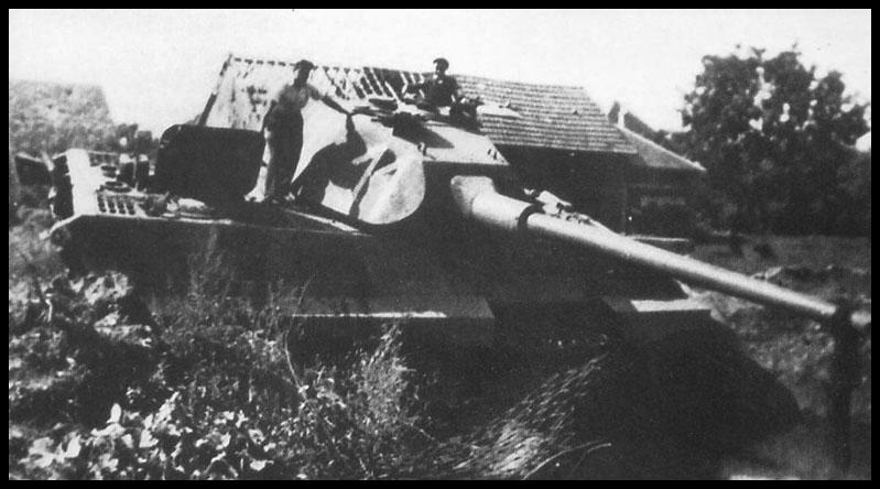 1- La Panzer Kompanie 316 (1/Panzer Abteilung 302)- France 1944 11-2