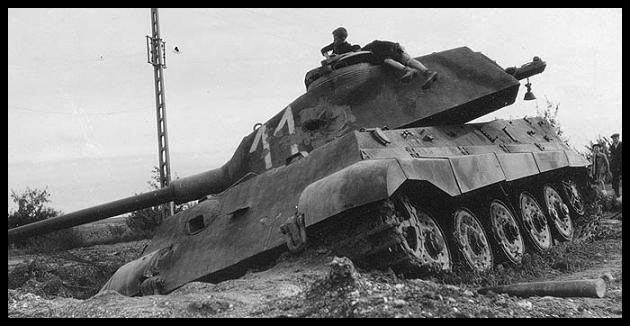 1- La Panzer Kompanie 316 (1/Panzer Abteilung 302)- France 1944 11