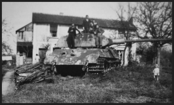 1- La Panzer Kompanie 316 (1/Panzer Abteilung 302)- France 1944 12-6