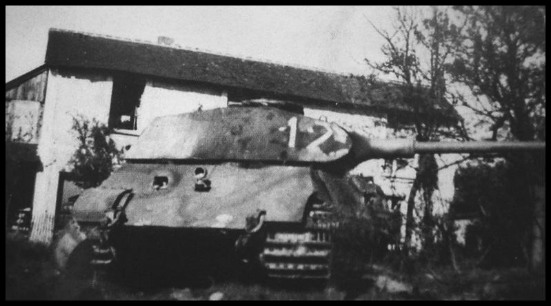 1- La Panzer Kompanie 316 (1/Panzer Abteilung 302)- France 1944 12