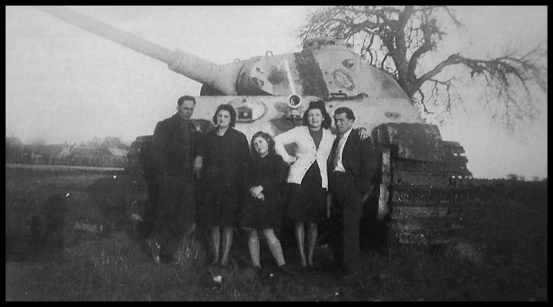 1- La Panzer Kompanie 316 (1/Panzer Abteilung 302)- France 1944 13