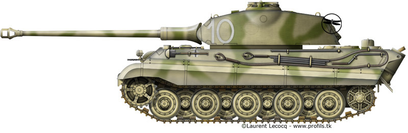1- La Panzer Kompanie 316 (1/Panzer Abteilung 302)- France 1944 G-Tiger%20II%20Porsche-10
