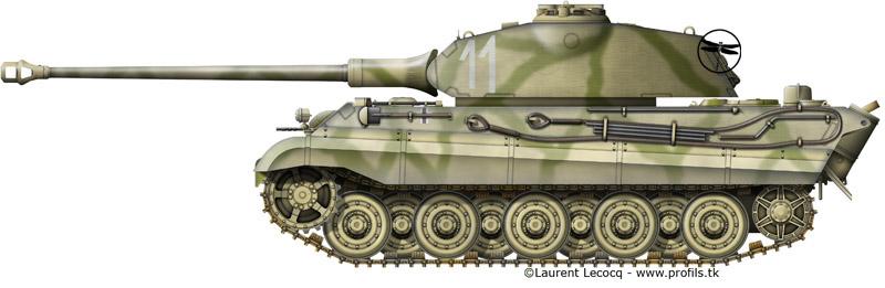 1- La Panzer Kompanie 316 (1/Panzer Abteilung 302)- France 1944 G-Tiger%20II%20Porsche-11