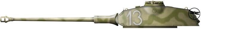 1- La Panzer Kompanie 316 (1/Panzer Abteilung 302)- France 1944 G-Tiger%20II%20Porsche-13