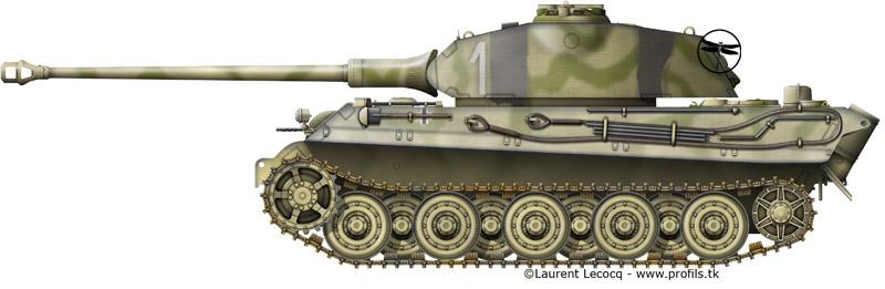 1- La Panzer Kompanie 316 (1/Panzer Abteilung 302)- France 1944 G-Tiger%20II%20Porsche-13bis