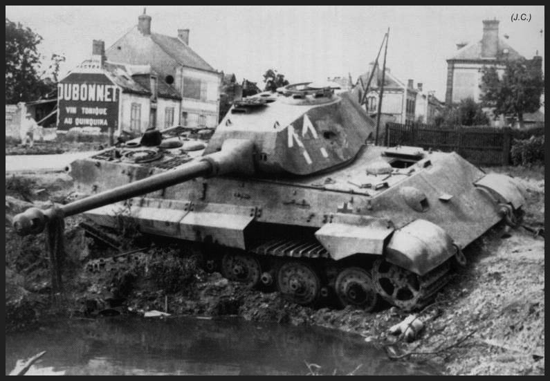 1- La Panzer Kompanie 316 (1/Panzer Abteilung 302)- France 1944 File-2