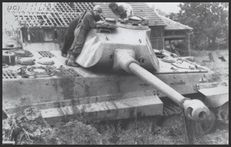 1- La Panzer Kompanie 316 (1/Panzer Abteilung 302)- France 1944 File