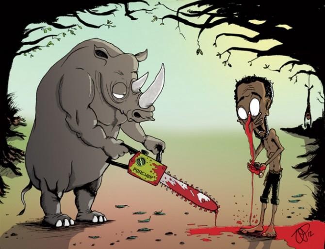 ZHIVOTNI I LUGJE Satirical-animal-rights-illustrations-parallel-universe-15-571a250321bc5__700-670x514