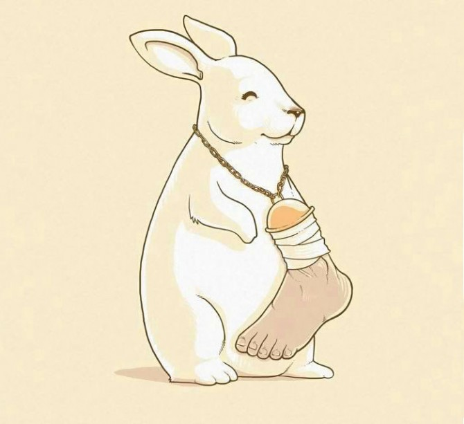 ZHIVOTNI I LUGJE Satirical-animal-rights-illustrations-parallel-universe-29-571a25232f633__700-670x613