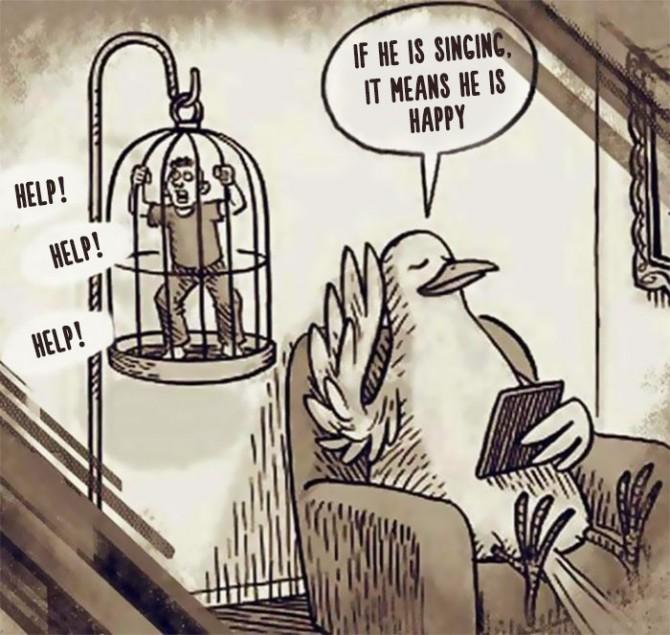 ZHIVOTNI I LUGJE Satirical-animal-rights-illustrations-parallel-universe-34-571a252bb8d3c__700-670x635