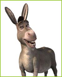 BERÄTTA OM DIG SOM ÄR MED I DTE !! Shrek-donkey