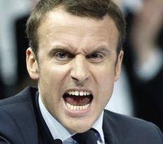 Rivoluzione colorata: l'imbroglio Macron seppellirà i francesi Macron1