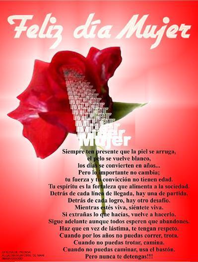 8 De Marzo Dia Internacional De La Mujer Feliz Dia Mujer Hay belleza en ser mujer: internacional de la mujer feliz dia