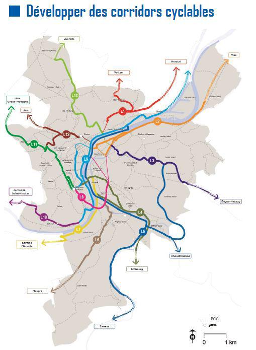Voies Express Vélo Tracecorridorspcmliege2017.2