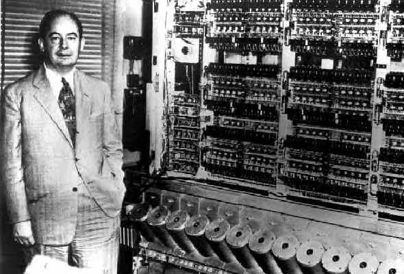 صور نادرة لاول جهاز كمبيوتر فى العالم  VonNeumann