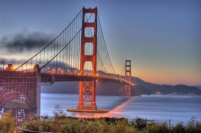 Самые большие и красивые мосты мира GoldenGateBridge
