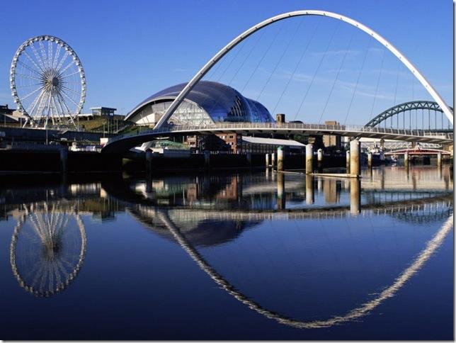 Самые большие и красивые мосты мира GatesheadMillennium1_5