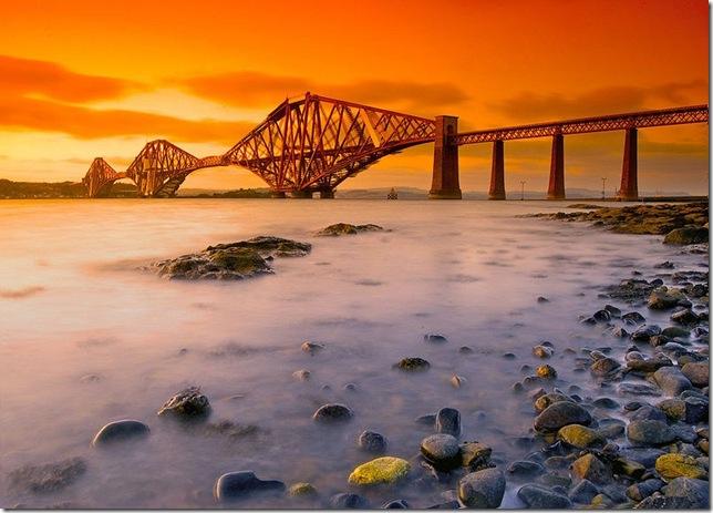 Самые большие и красивые мосты мира ForthRailBridge_3