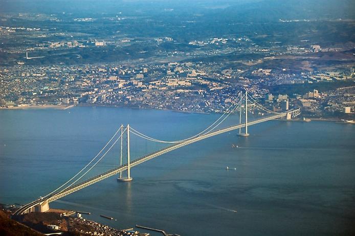 Самые большие и красивые мосты мира AkashiKaikyoJapan-0