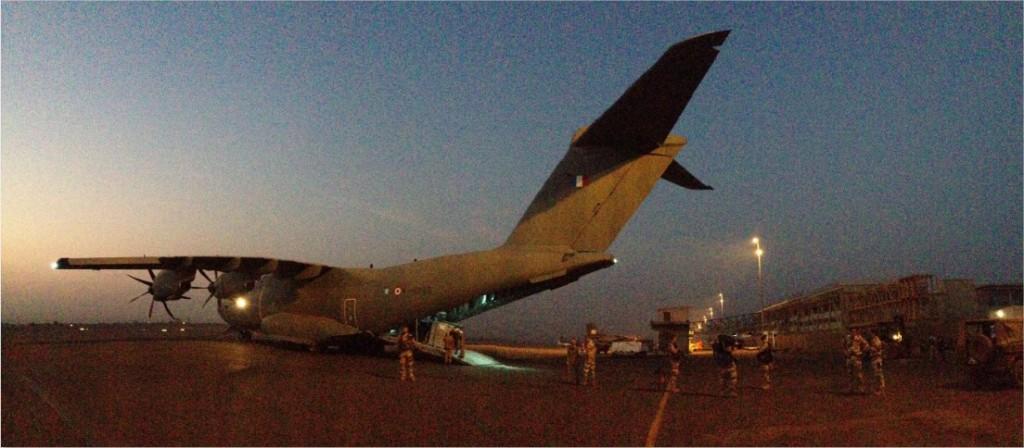 La première mission opérationnelle de l'A400M 2613423078