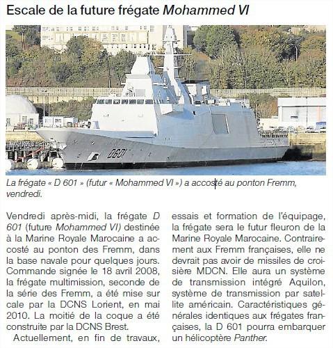 FREMM Marocaine / Royal Moroccan Navy FREMM Frigate - Page 41 3523718561
