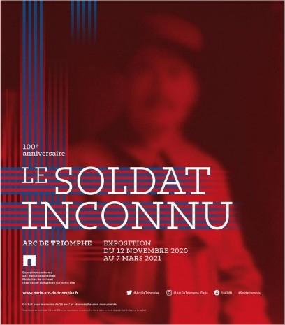 """Exposition """"Le Soldat Inconnu"""" à l'Arc de triomphe . 1230338364"""