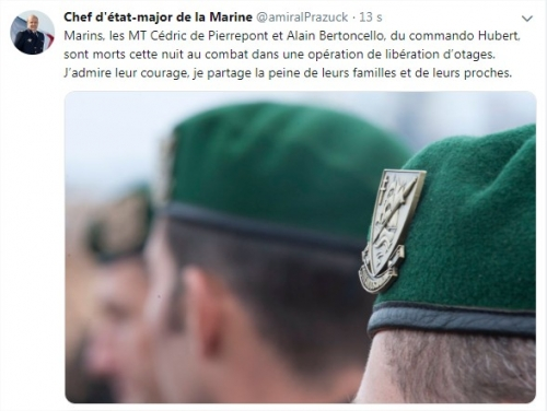 Maîtres Cédric de Pierrepont et Alain Bertoncello, morts pour la France . 1664262111